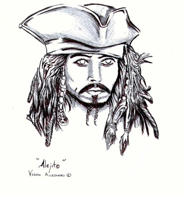 Johnny Depp by alehot13